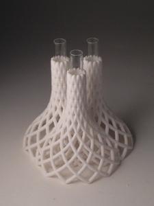 SpiralUp 3-stem Budvase